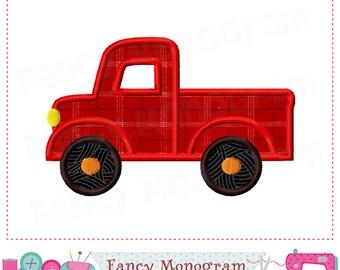 Truck applique,Truck design,Truck embroidery,Truck,Transportation,Traffic,Birthday applique,Embroidery Machine. -09
