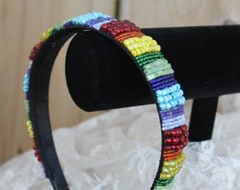 Handmade Beaded Headband
