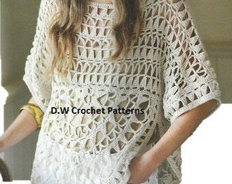 PDF Ibiza Style Top Crochet Pattern