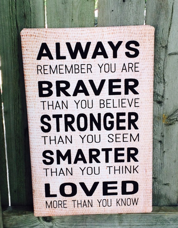 Always Remember You Are Loved: Items Similar To Graduation Gift