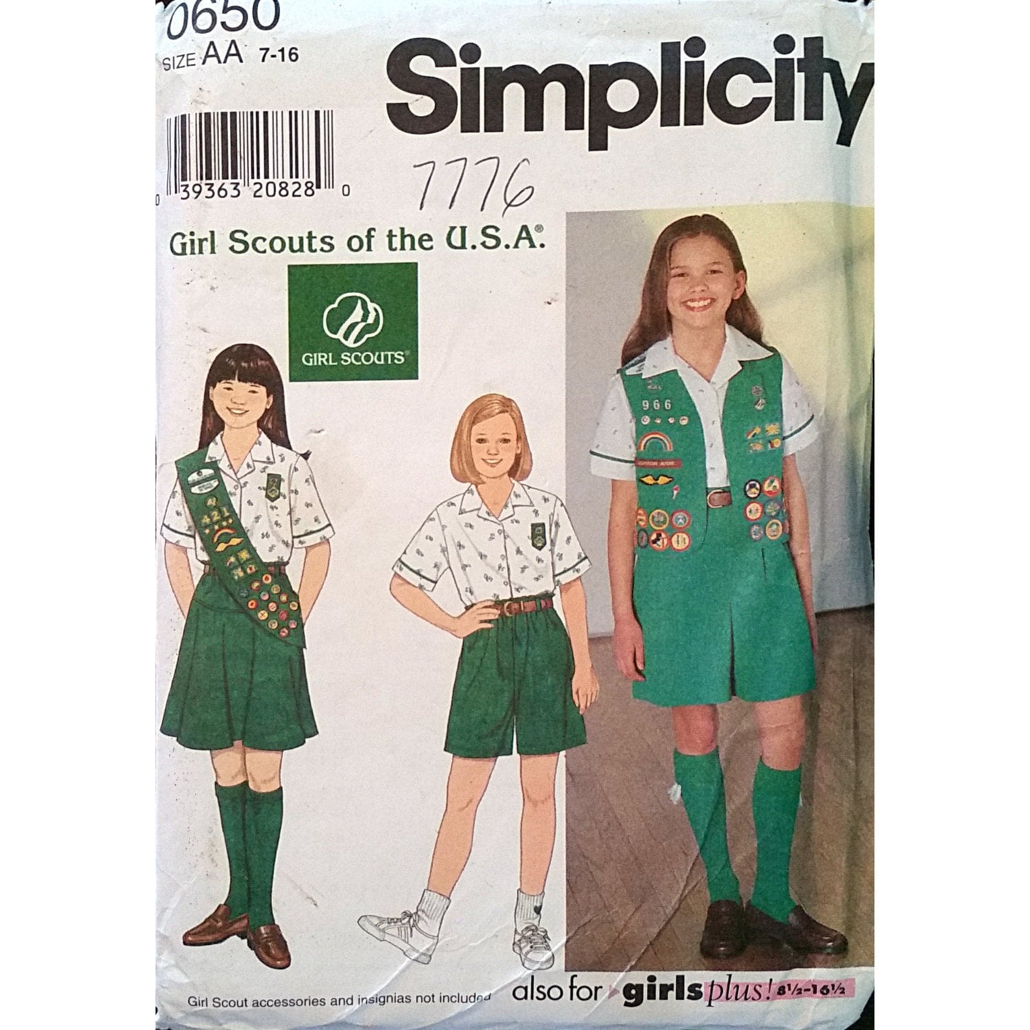 Girl Scout Blouse 112