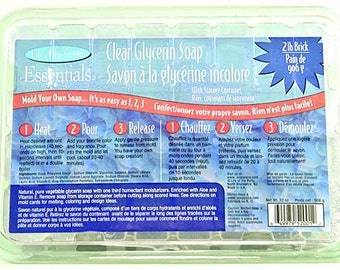 Clear Glycerin Soap Base, LOP52001, 2-Pound
