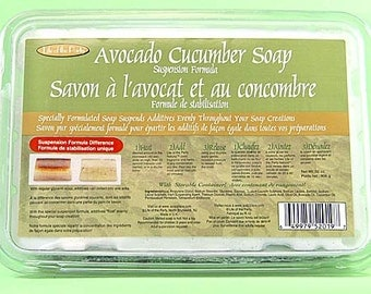 Avocado/Cucumber Suspension Soap Base, 2-Pound Life of the Party