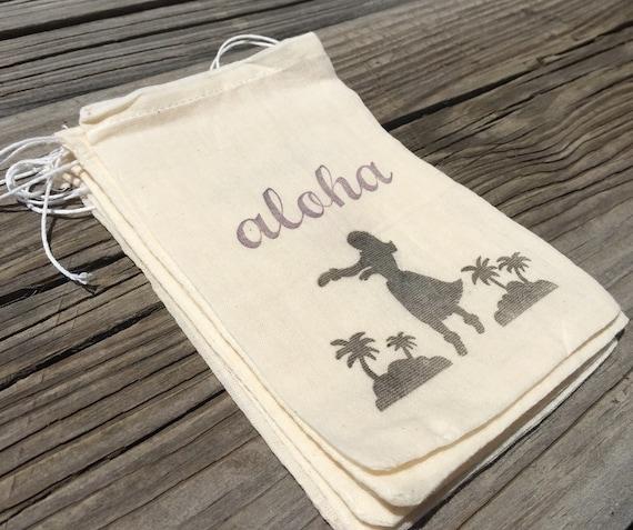 Hawaii Wedding Gift Bags : 10 Hawaiian Favor Bags Aloha favor bags hula by EverlongEvents
