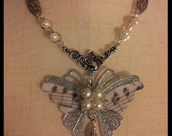 Butterfly Song Necklace