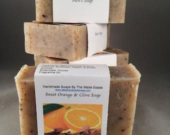 Sweet Orange & Clove Soap