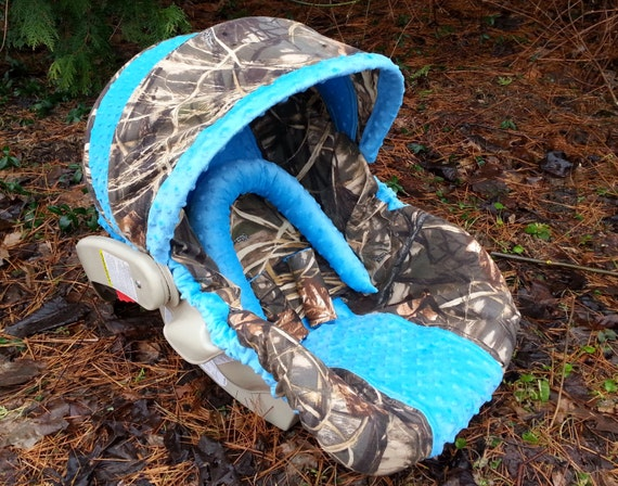 Camo Infant Car Seat Cover Made With Advantage By