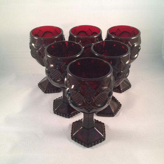 Avon Cape Cod 1876 Collection Ruby Red By NanasCherishedChina