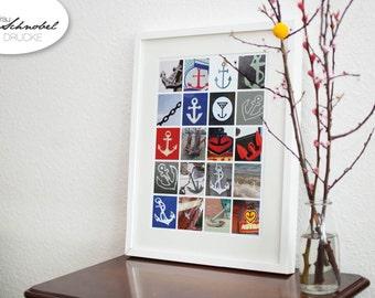 """Print """"Ankerfest"""" DinA3 297x420mm"""