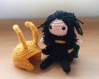 Loki Amigurumi doll