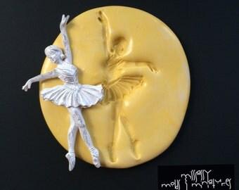 Ballerina Silicone Mold #1