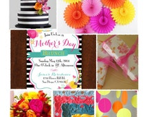 Mother's Day Brunch -- Party Inspiration Board, Ebook, PDF
