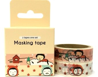 Childhood 2pc Set Washi Tape (4.9m x 2) ST14731
