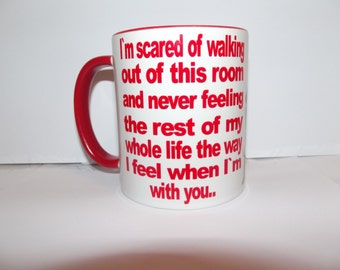Dirty Dancing Quote on a Mug Text Coffee Mug