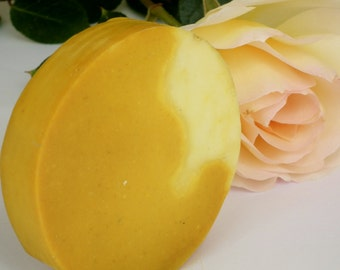 Turmeric and Carrot Soap