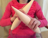 Giant circular XXXL knitting needles for super bulky yarns 45mm (US 100)