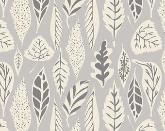 Hello Bear fabric by Bonnie Christine for Art Gallery Fabrics- Leaflet in Dawn