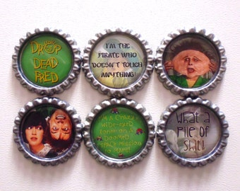 Drop Dead Fred Brooches/Magnets