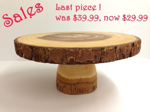 tree bark wedding cake stand 10 rustic cake stand bark cake stand tree by somethinginthebox 21249