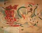 Sensoji Temple Painting - Japan, fine art print, Buddhism, photograph, Tokyo, temple, asian