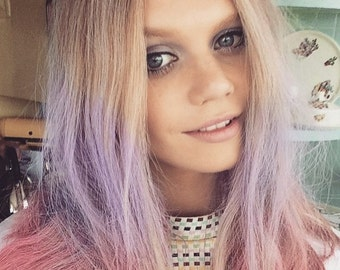 6 Hair Chalk Colours INSTANT HAIR COLOUR *washes out*
