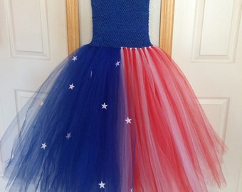 Red, White & Blue Tutu/4th of July Tutu!
