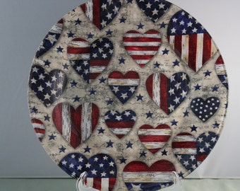 4th of July Decorative plates