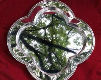 GODINGER Sliver Art Tray  Decorative Mirror
