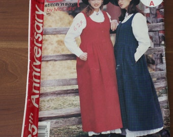 McCall's P228 Jumper and Petticoat Sizes 10-16