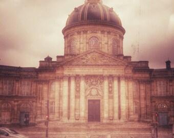 Paris Photo, France Photograph, Paris Street Photo, Architectural Photo, Paris Rainy Day Photo
