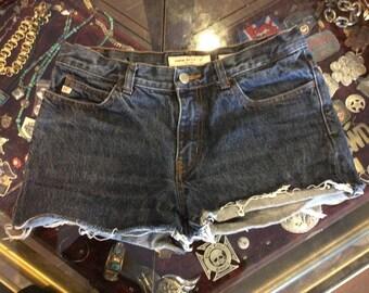Miss Sixty Cut Off Jean Shorts