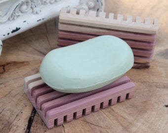 Wooden Soap Dish by Matlack Woodworking