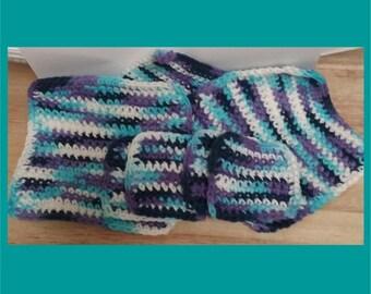 Moon Dancer Crochet Kitchen Set