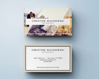 Photography Business Card Template | INSTANT DOWNLOAD!