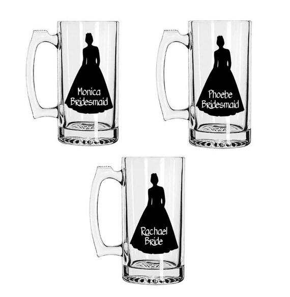 Beer Mugs, Cheap Bridesmaid Beer Mugs, Custom Bridesmaid Beer Mugs ...