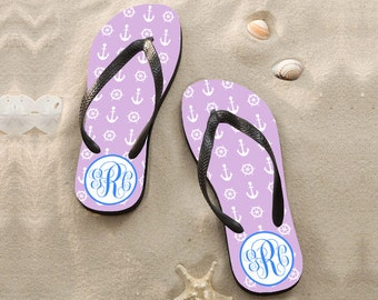 Personalize Flip Flops,beachwedding flip flops for guests,cheap bridesmaidflip flops,custom design sandals,promotionalsandals