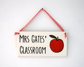 Personalised Sign for Teachers