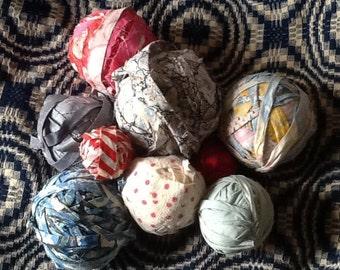 Rag Balls - lot of 9