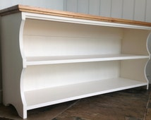 Hall shoe bench and shoe rack with storage shelves in Antique white