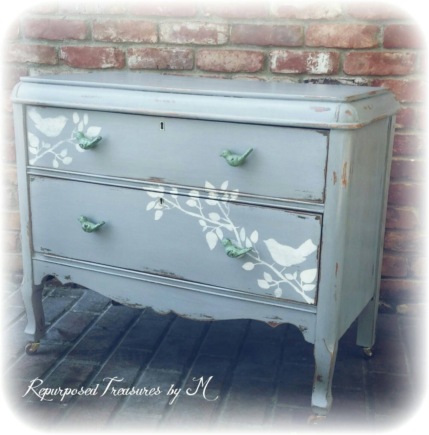 sold sold distressed antique dresser shabby chic dresser. Black Bedroom Furniture Sets. Home Design Ideas
