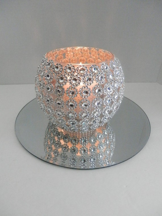 Wedding Centerpiece Bling With Round