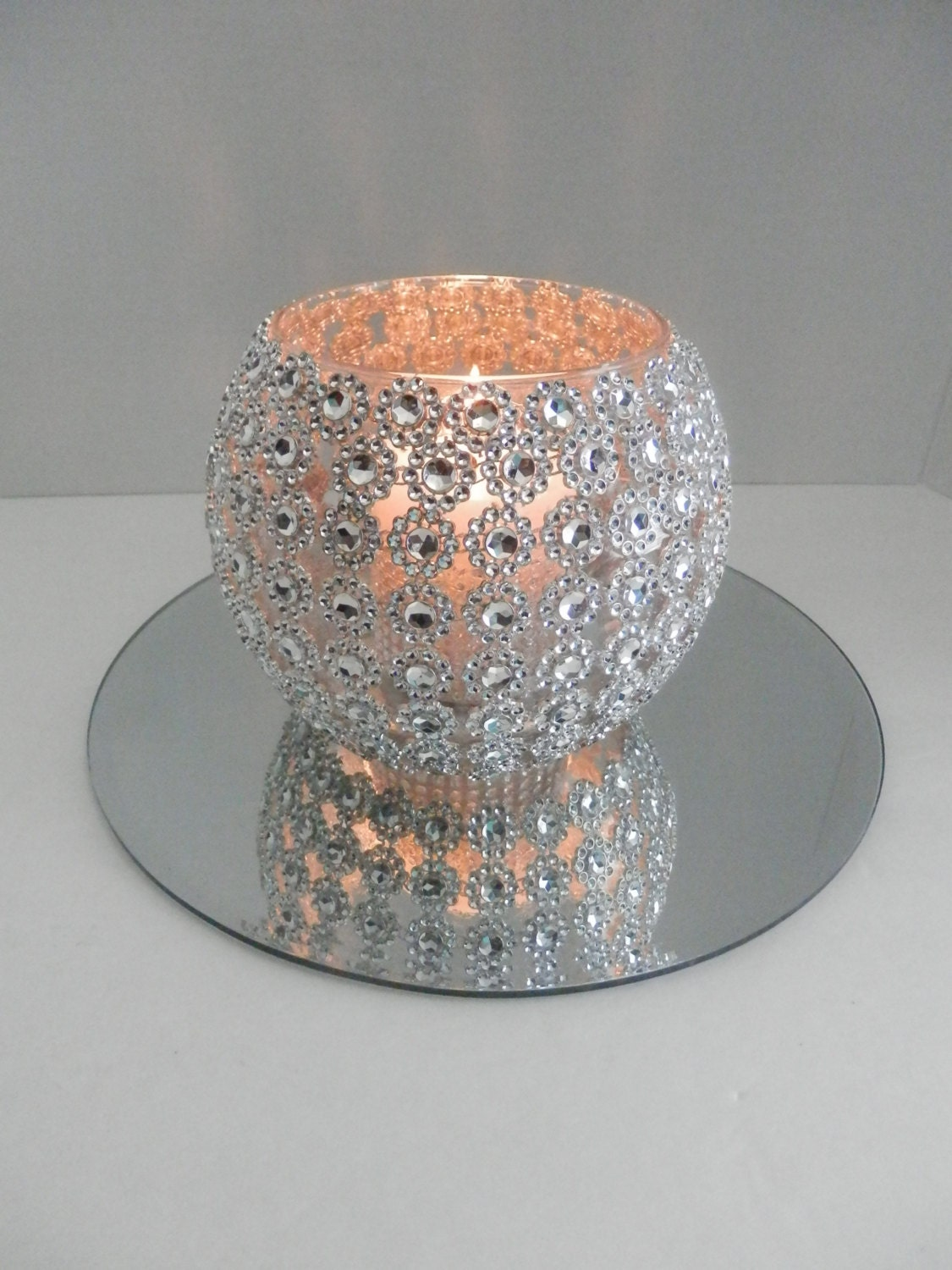 Sparkly Bling Nails: Wedding Centerpiece Bling Wedding Centerpiece With Round