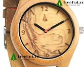 Christmas Gifts,Wedding gifts, Engagement, Wood Watch, Groomsmen gift, Boyfriend Gift, Anniversary Gifts for Men Wooden Watch HUT11-092