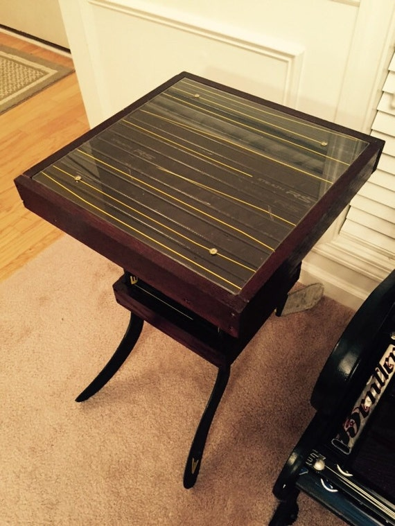Items similar to 18x18 hockey stick table with 12x12 lower for 12x12 table