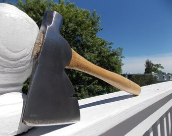 Vaughn & Bushnell Mfg Co. hatchet vintage with a new handle of American Hickory