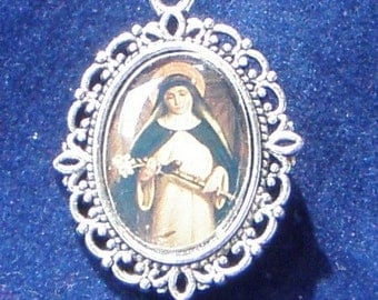 Saint Catherine of Sienne Religious Medal