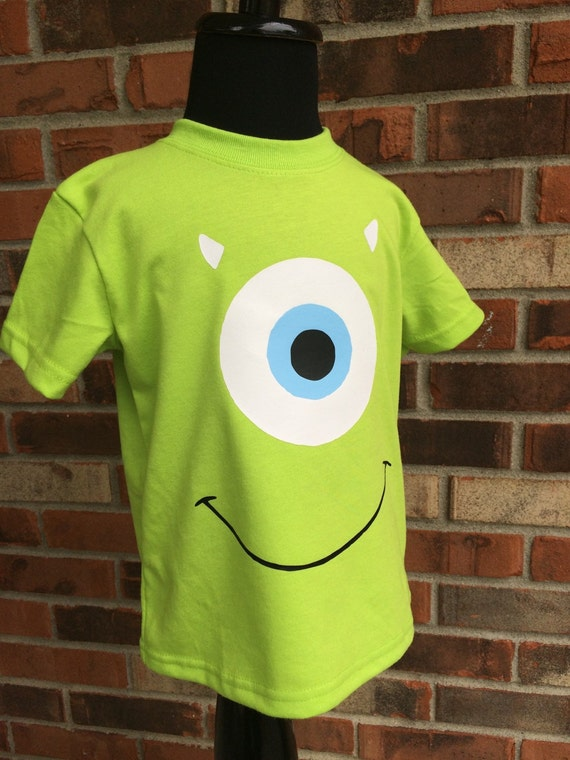 Mike Wazowski Inspired Shirt Monsters Inc By