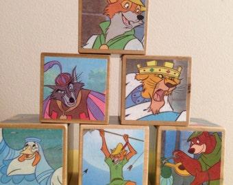 Robin Hood storybook blocks