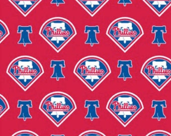 MLB - Philadelphia Phillies Fabric