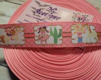 Lil Cowgirl Grosgrain Ribbon